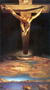 """""""Hristos al Sfantului Ioan al Crucii"""" – Salvador Dali"""